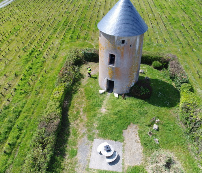 Photo moulin drone